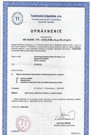 osvedčenie a certifikát